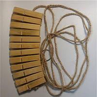 Зажимы для сосков с веревкой