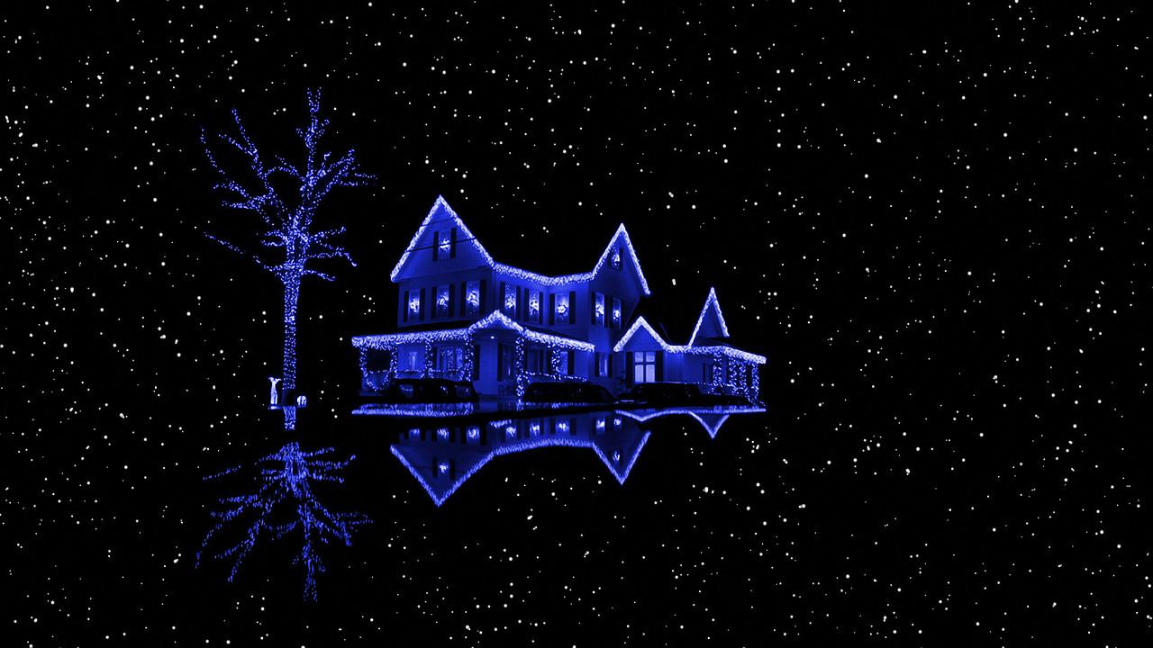 Новогоднее оформление фасада, фото 1