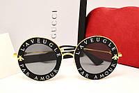 Женские солнцезащитные очки Gucci GG 0113S L'Aveugle par amour