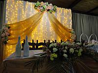Оформление свадьбы, флористика на свадьбу