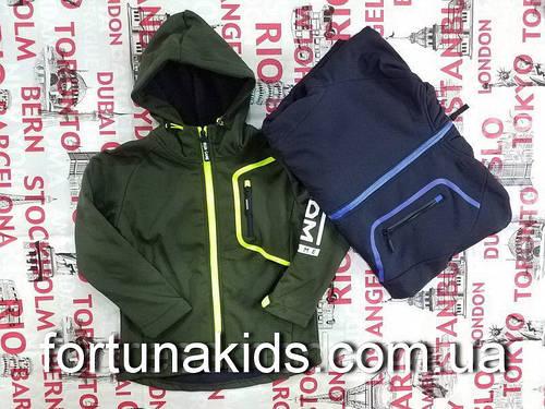 Термокуртка на флисе для мальчиков BUDDY BOY 8-16 лет