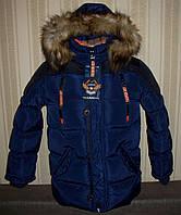 Куртка зимняя для мальчиков 128/134, 140/146, 158/164 Венгрия