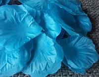 Лепестки роз искусственные синие