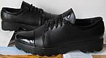 Весна 2020 ! Женские туфли черные весна осень слипоны кожа замша лак, фото 2