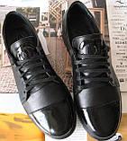 Весна 2020 ! Женские туфли черные весна осень слипоны кожа замша лак, фото 6
