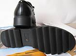 Весна 2020 ! Женские туфли черные весна осень слипоны кожа замша лак, фото 7
