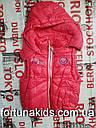 Безрукавки для девочек на флисе  TAURUS 1-5 лет, фото 2
