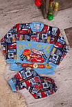 Пижама детская на 2 кнопках  полотно  набивной  начес , фото 4