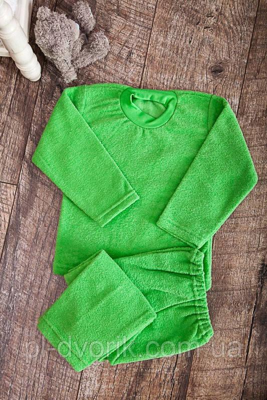 Пижама детская  Махра начесная однотонная    Пижама детская Модель: 9639-032