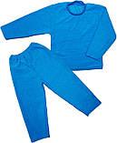 Пижама детская  Махра начесная однотонная    Пижама детская Модель: 9639-032, фото 2