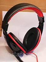 Наушники SOMIC DANYIN DT-2699G чёрный/красный