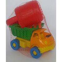 Машина Смайлик + набор для песочницы + лейка малая, Яблокова, Л-014-4