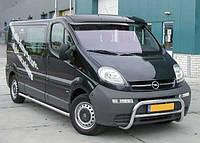 Козирьок Opel Vivaro (прозрачний)