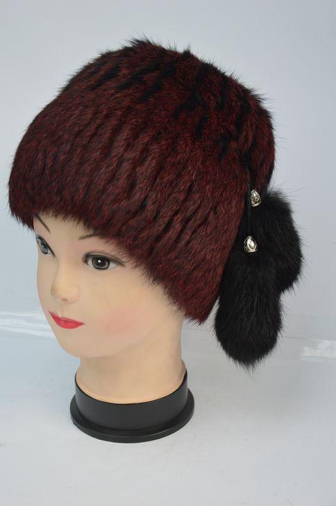Стильная меховая шапка оптом и в розницу