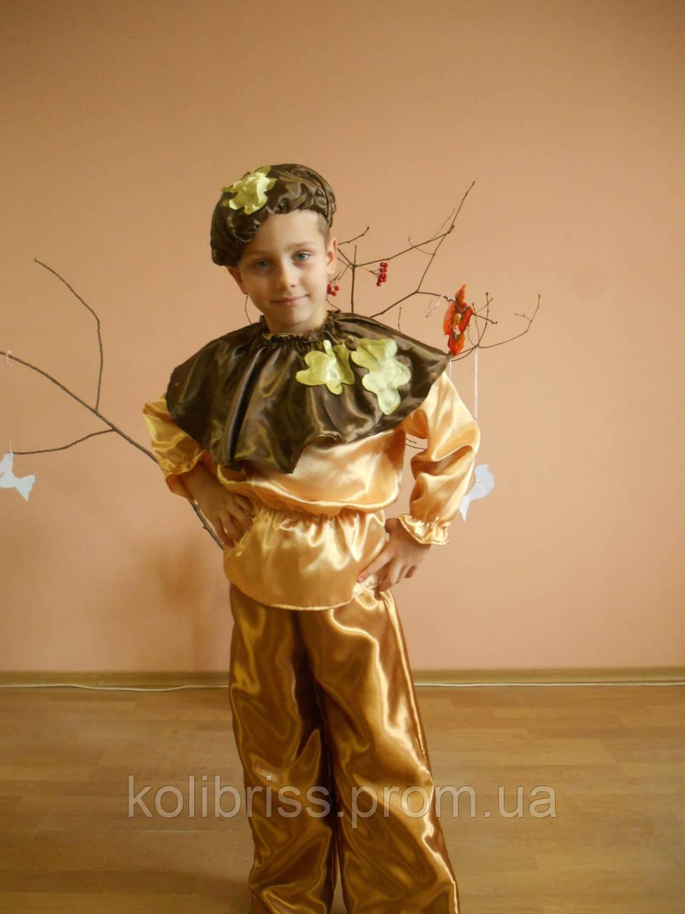 Костюм желудя, костюм желудь прокат Киев