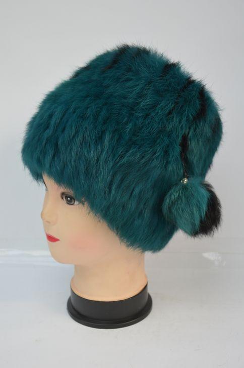 Женская меховая шапка от производителя