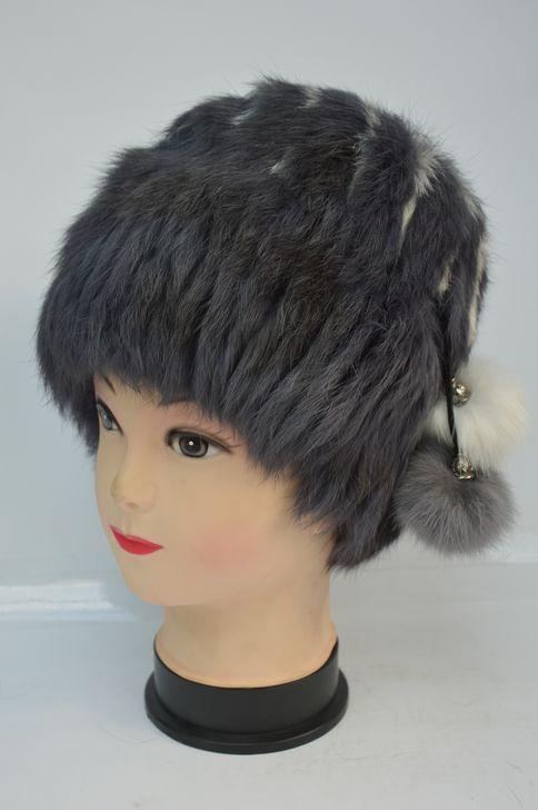 Стильная женская меховая шапка хит продаж