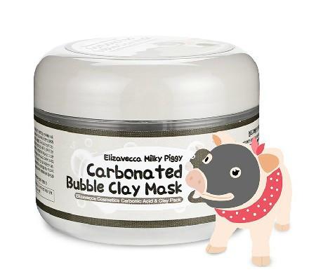 Elizavecca Milky Piggy Carbonated Bubble Clay Mask Бульбашкова глиняна маска