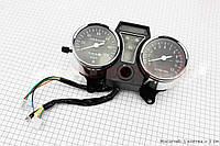 """Спидометр в сборе """"двойной"""" 120 км/ч тахометр электронный (широкое крепление,Alfa), фото 1"""