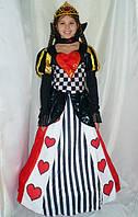 Королева сердец шахматная прокат карнавального костюма