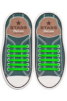 Шнурки силиконовые для обуви AntiLaces Start Зеленый 56,5мм, SG565