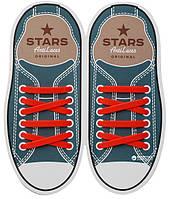 Шнурки силиконовые для обуви AntiLaces Start Красный 56,5мм, SR565