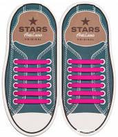 Шнурки силиконовые для обуви AntiLaces Start Розовый 56,5мм, SP565