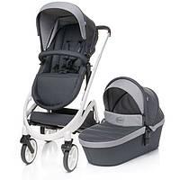 4 Baby коляска Cosmo Duo 2в1 Dark Grey