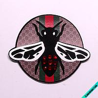 Термонашивка, наклейка на одежду Gucci [28 шт. на листе]