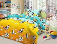 Комплект постельного детского белья бязь - 5307/1  Пингвины