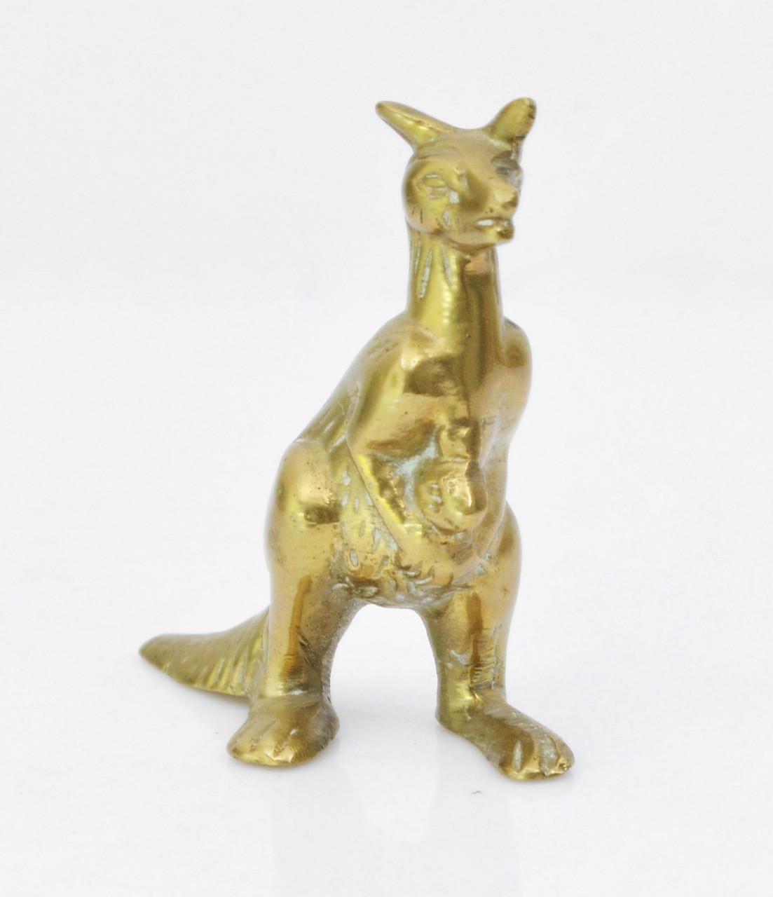 Миниатюра, кенгуру, Германия, латунь 60-е года