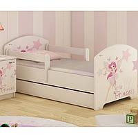 Детская кровать Oskar+ящик Little Princess 140 х 70 Baby Boo 100180