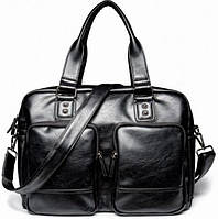 Кожаная мужская сумка, дорожная мужская сумка, городская сумка, прочная сумка, качественная сумка