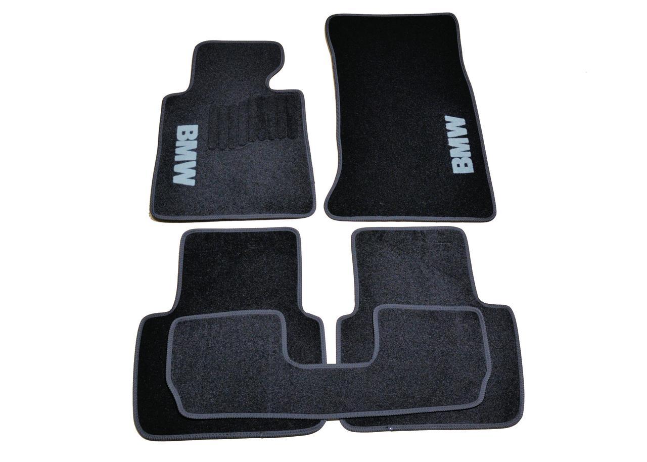 Килимки в салон ворсові AVTM для BMW 3 (Е46) (1998-2006) /Чорні, кт-5шт BLCCR1040