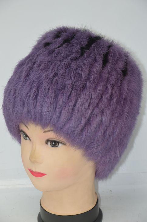 Молодежная меховая шапка для женщин новинка сезона