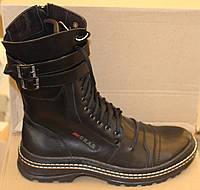 Берцы кожаные зимние, мужская обувь зимняя от производителя ФБ - 24Б