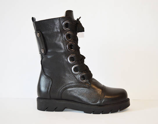 Ботинки женские со шнуровкой Donna Ricco 544, фото 2