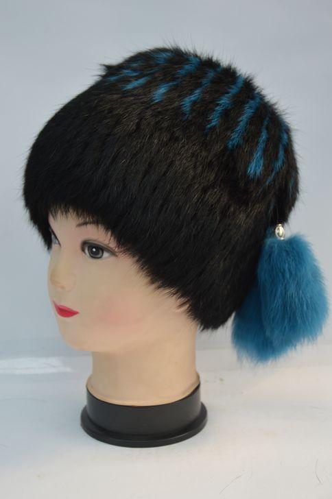 Качественная женская меховая шапка хит продаж