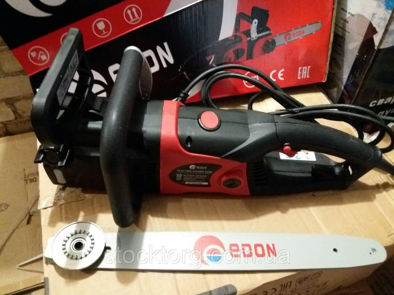 Пила цепная электрическая Edon ECS-405/2600