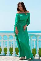 Зеленое платье в пол Графиня, фото 1