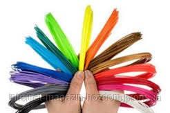 Набор ABS пластика 12 цветов по 10 м (120 м)