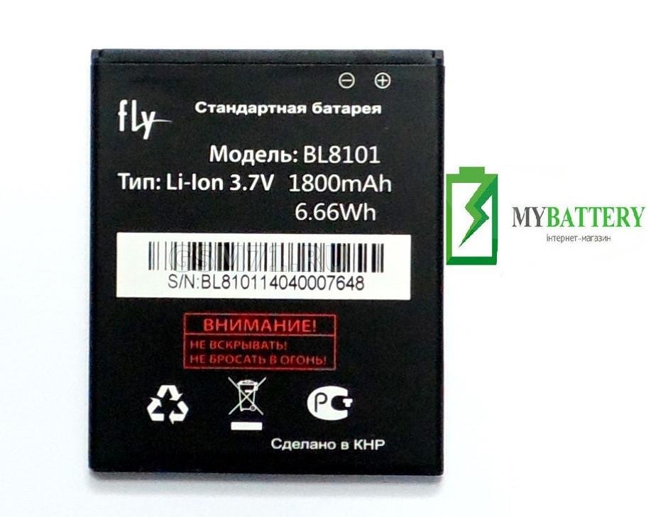 Оригинальный аккумулятор АКБ батарея Fly BL8101, IQ455
