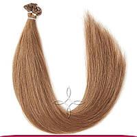 Натуральные славянские волосы на капсулах 45-50 см 100 грамм, Русый №07А