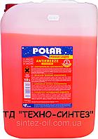 Антифриз красный концентрат POLAR -80°C Premium Longlife G12+ (10л)