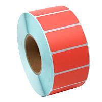 40х25 красная термоэтикетка термо ЭКО (1000шт)