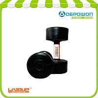 Гантели с пластиковым покрытием 5 кг CEMENT DUMBELL LS2003-5