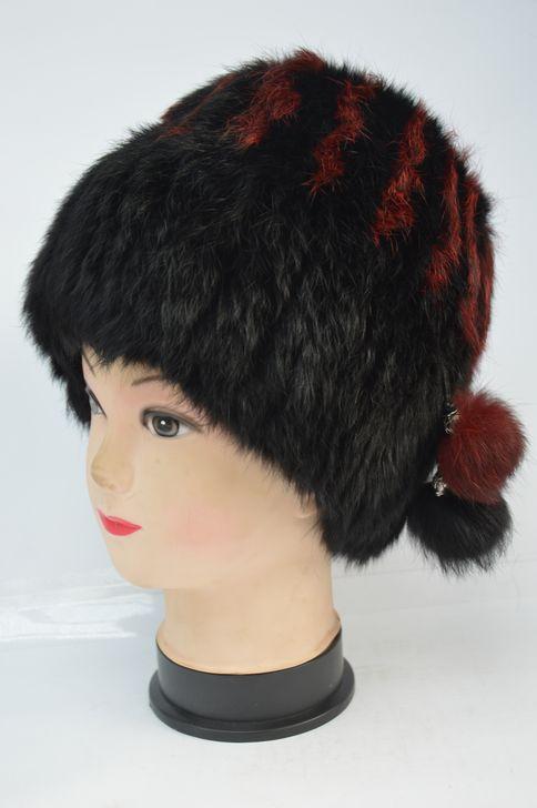 Удобная женская меховая шапка от производителя