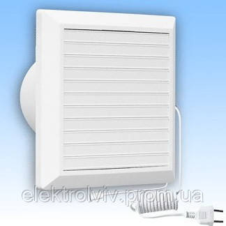 Настенный вентилятор Hardi 150 (00019), механические жалюзи