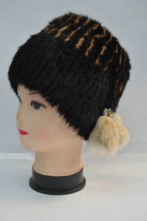 Удобная женская меховая шапка оптом и в розницу