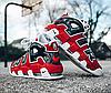 Мужские кроссовки Nike Air More Uptempo Black/White/Red 415 082 600, Найк Аир Мор Аптемпо, фото 5